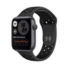 Apple Watch Nike Series 6 GPS 44mm Space Gray Aluminium Case черный