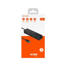USB Hub ACME HB540 multi-hub, USB type-C