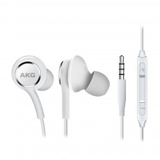 Проводные наушники Samsung Galaxy S10 Tuned by AKG, mini jack 3.5 White