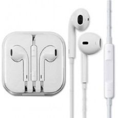 Наушники Apple Earpods для iPhone 5/5s/SE/6/6s/iPod/iPad с микрофоном и пультом управления (1,2m), Оригинал
