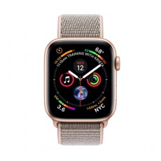 Apple Watch Series 4 40mm Gold Aluminum Case with Pink Sand Sport Loop б/у