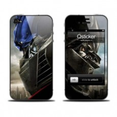 Наклейка QSTICKER Apple iPhone 4/4S, виниловая, Transformer