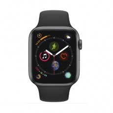 Apple Watch Series 4 44mm Space Gray Aluminum Case with Black Sport Band б/у