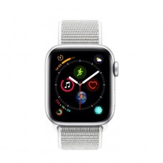 Apple Watch Series 4 40mm Silver Aluminium Case With Seashell Sport Loop