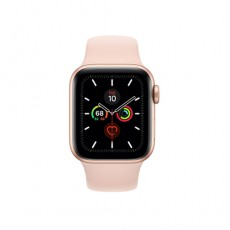 Apple Watch Series 5 40mm MWV72 Gold Aluminium Case with Pink Sand Sport Band, ЕАС