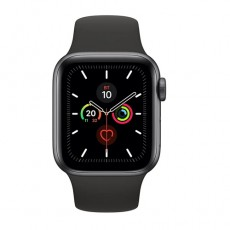 Apple Watch Series 5 40mm MWV82 Space Gray Aluminium Case with Black Sport Band