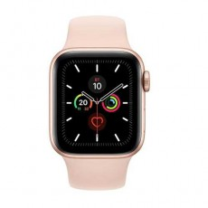 Apple Watch Series 5 44mm MWVE2 Gold Aluminium Case with Pink Sand Sport Band витрина
