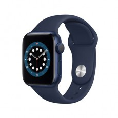 Apple Watch Series 6 44mm Blue Aluminium Case with Sport Band синий