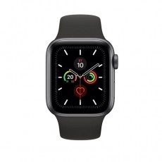 Apple Watch Series 5 44mm MWVF2 Space Gray Aluminium Case with Black Sport Band