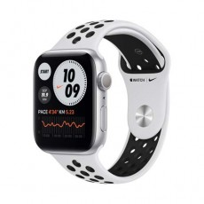 Apple Watch Nike Series 6 GPS 44mm Silver Aluminium Case белый