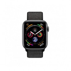 Apple Watch Series 4 40mm Space Gray Aluminium Case With Black Sport Loop