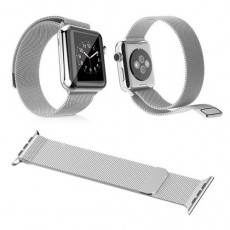 Ремешок Apple Watch 42mm Silver Milanese Loop