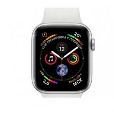 Apple Watch Series 5 44mm MWVD2 Silver Aluminium Case with White Sport Band Витринный образец