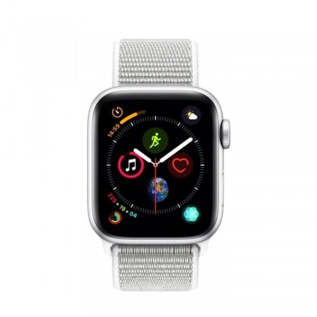 Apple Watch Series 4 44mm Silver Aluminium Case With Seashell Sport Loop